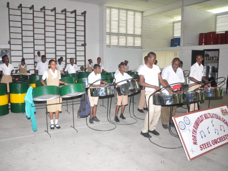 NRMSS steel band