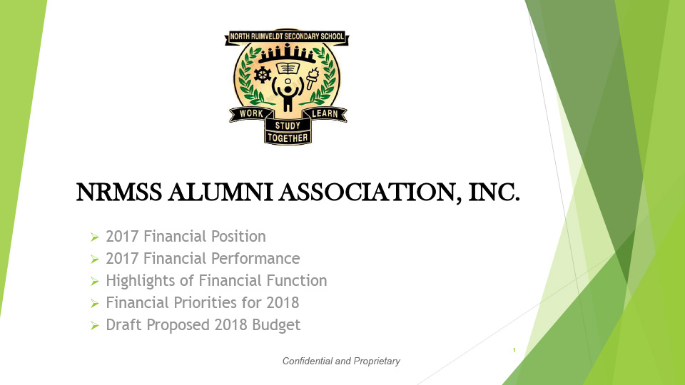 2017 Financial Reports - 4th Annual Meeting - 4-14-2018